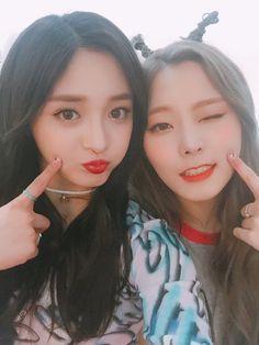 Pristin ♡ Kyulkyung; Eunwoo