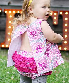 Love this Pink Aaliyah Ruffle Diaper Cover - Infant & Toddler by RuffleButts on #zulily! #zulilyfinds