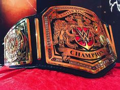 wwe Who will be crowned the FIRST Champion ever? Watch on right now! Wwe Championship Belts, Wwe Belts, Wwe Tna, Steve Austin, Wrestling Wwe, Aj Styles, Wwe Photos, Professional Wrestling, Mixed Martial Arts