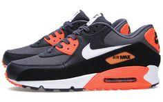 b44336f7022710 Nike Air Max 90 Premium Dark Grey   White   Total Crimson Roshe Shoes