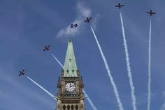 Canada Day on Parliament Hill draws more than — including Ryan Reynolds Canada Day Long Weekend, Happy Canada Day, Canada Day Ottawa, Firework Safety, John Tory, Centennial Park, Fireworks Show, Hill Park, Guinness World