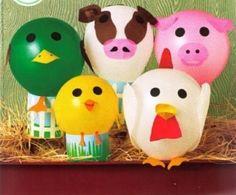 manualidades globos para fiestas infantiles