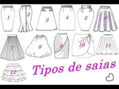 Todos os tipos de Saia molde e costura Alana Santos Blogger Alana Santos, Pattern Drafting, Sewing Clothes, Scarf Styles, Types Of Shirts, Youtube, Scarves, Image, Lifestyle