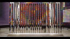 """FR dans le cadre de l'hommage triptyque à Victor Vasarely, à la Fondation Vasarely d'Aix-en-Provence du 2 juin au 2 octobre 2016 EXPOSITION """"VICTOR VASARELY MultipliCITÉ I L'ART POUR TOUS"""" / Commisariat : Odile Guichard, Michel Menu, Pierre Vasarely & EXPOSITION """"IRISATIONS"""" / Commisariat : Mathieu Vabre  Vidéo : Cyril Meroni  Les oeuvres d'Etienne Rey créent des expériences de l'espace où lumière, vision et déplacement modulent notre perception. Ce travail marque une continuité des q..."""