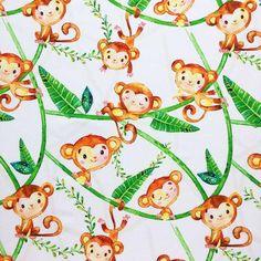 Little Monkey Personalized Blanket, Jungle Stroller Blanket, Tropical Minky Lovey, Safari Animals Nursery Bedding, Neutral Security Blanket Stroller Blanket, Minky Baby Blanket, Baby Girl Blankets, Aviation Nursery, Tropical Nursery, Cute Monkey, Baby Mermaid, Personalized Baby Blankets, Little Monkeys