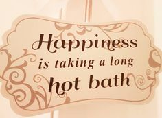 Enough said really   But then it wouldn't be one of my posts if that's all it was now would it?   Whether you've spent time taking care of the #kids #running around at #work all day spent the day #shopping or been on a nice long hike or doesn't a few hours at the #gym... There's nothing better than a nice long soak in a red hot bath a glass of #wine and #tunes gently drifting out of your @bose!  Remember it doesn't matter how busy your day or week gets make time for yourself. Luck yourself…