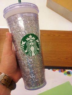 talk like lovers: Bling Bling! DIY Starbucks glitter cup!