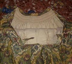 Falda de pañal. Indumentaria valenciana