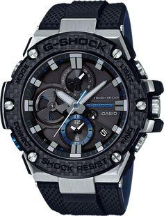 G-SHOCK G-STEEL GSTB100XA-1A Men's Watch Black Men's Watches, Rugged Watches, Luxury Watches, Watches For Men, Wrist Watches, Casio G Shock Watches, Popular Watches, Cheap Watches, Watches Online