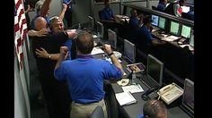The Smile of Success. Phoenix team members celebrate the Phoenix landing on Mars, May 25, 2008.