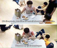 Wonwoo is me. I am Wonwoo. xD