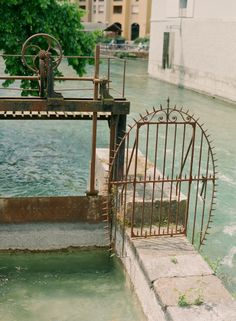 Canal Dam in Annecy