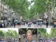 Las Ramblas - Highlights of Barcelona – The Girls Who Wander The Girl Who, Wander, Highlights, Barcelona, Spain, Street View, Girls, Little Girls, Daughters