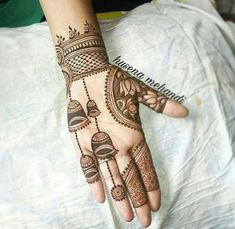 Modern Mehndi Designs for College. – Nitya Shaiyara