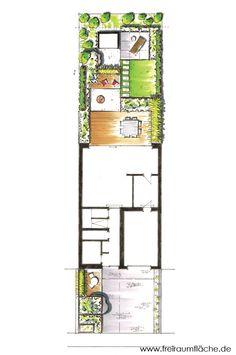 reihenhausgarten | garten | pinterest, Deko ideen
