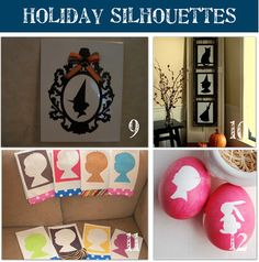 Silhouette Holiday Crafts