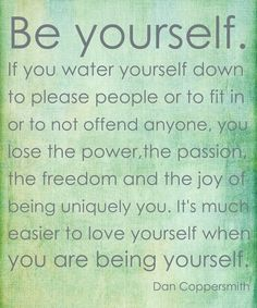 Self-Care Saturday:Dropping the Labels and Just Being You! | Tobi Fairley! Repinned by Aline