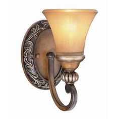 Hampton Bay, 1-Light Caffe Patina Sconce, 15108 at The Home Depot - Mobile