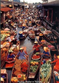 Floating Market , Thailand | Most Beautiful Pages