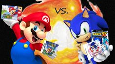 What game do you like better? Super Mario 64 or Sonic Adventure?