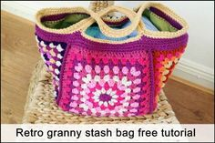 If you are interested in making the retro granny stash bag, the free pattern and tutorial are all on my blog. Here is a quick start guide to where to find everything you need. Overview free pattern and tutorial If you are a fairly experienced crocheter, this is probably all you need to make the […]
