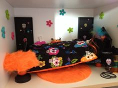 Diy Chambre Skelitta Monster High, Skelitta bedroom