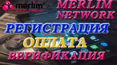 Merlin Network| Регистрация в Merlim Network| Оплата  Мерлим Нетворк| Ве...