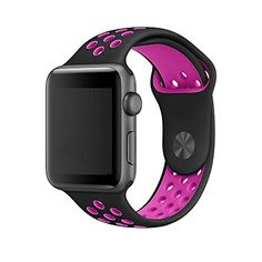 Apple Watch Band, Acytime Soft Silicone Sport Style Repla...