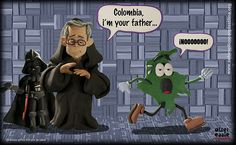 .: Colombia i'm your father