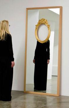 Tu recepcja - turecepcja:Mirror installation by Ron Gilad