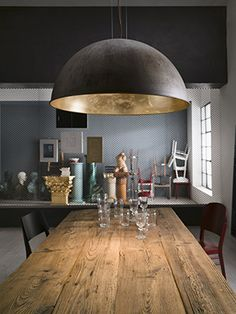We are Leading Supplier of Interior & Exterior Lights in Australia. Shop online from our full range of luxury Glass & Brass Interior Pendant Lights now! Dining Room Lighting, Pendent Lighting, Interior, Pendant Light Design, Residential Interior, Dome Pendant Lighting, Dome Light Fixture, Interior Pendant Lighting, Residential Interior Design