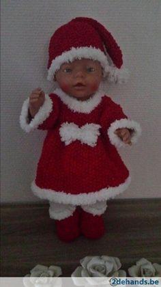 4D kerstkleedje babyborn  - Te koop in Diepenbeek Genk