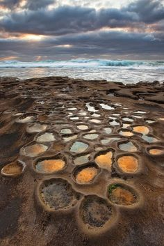 Coastal pot holes, La Jolla, California