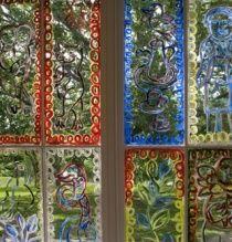 Windows of Heide I painted by Mirka Mora