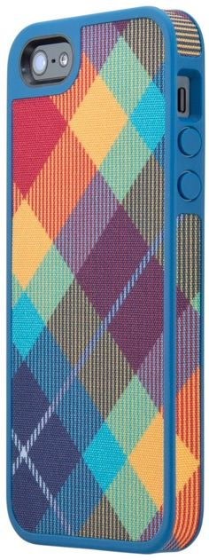 Amazon.com: Speck Products SPK-A0763 FabShell Fabric-Covered Case for iPhone 5 - Retail Packaging - LoveBirds Peacock Teal: Cell Phones & Accessories