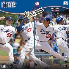 Perfect Timing - Turner 12 X 12 Inches 2013 Los Angeles Dodgers Wall Calendar (8011221) by Perfect Timing - Turner. $9.88. Showcase the stars of your favorite team with this rousing team wall calendars. Player action and school photos with player bio information.. Save 38% Off!