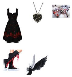 """""""Untitled #29"""" by rideoutchick ❤ liked on Polyvore featuring Hell Bunny"""