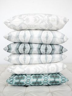pillows and patterns