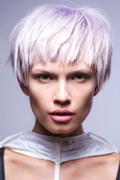Toni&Guy - Hair by Fabrizio Palmieri color love Funky Short Hair, Edgy Hair, Short Hair Cuts, Short Hair Styles, Short Bob Hairstyles, Cool Haircuts, Cool Hairstyles, Blonde Pixie, Short Blonde