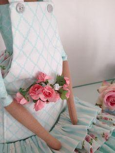 Orquídea de Feltro: É babado...