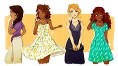 The Ladies of Olympus by Vanilla-Fireflies
