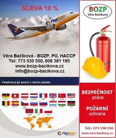 FlexKom  + Věra Bačíková - BOZP, PO, HACCP