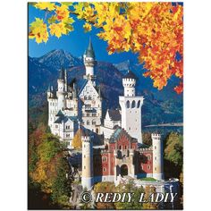 Neuschwanstein Castle in Winter Ravensburger 1500 Piece Jigsaw Puzzle - Unusual gift ideas & More inc. Snug Rug & CB Radios Ayr – from Got the Gift Medieval Castle, Ravensburger Puzzle, Germany Castles, Famous Castles, Holiday Places, Beautiful Castles, Beautiful Places, Travel Memories, Places