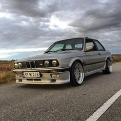 """""""Cant wait to get this one the road again #bmw #e30 #thedirtythirty #mtech1…"""