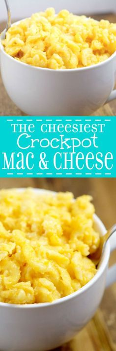 awesome The Cheesiest Crockpot Mac and Cheese