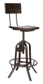 Rosie -  Adjustable Bar Chair