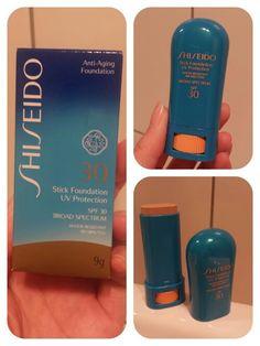 BLOGGED: Shiseido UV Protection Stick Foundation SPF30 in Beige