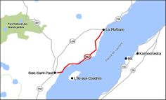 Route 362 Route 138, Baie St Paul, Malbaie, Charlevoix, Routes, Parc National, Top 5, Quebec, Canada