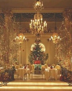 Christmas tea at The Ritz, NYC