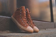 "Converse Jack Purcell Mid ""Brown & Gum"""